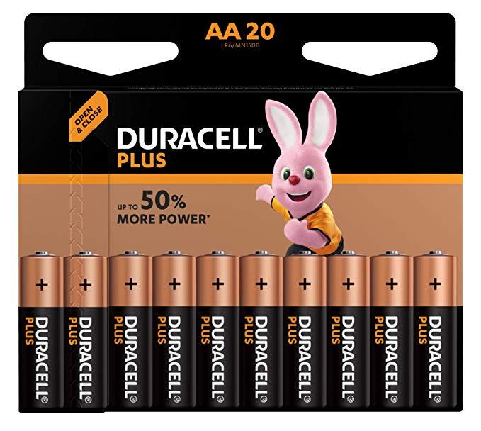 Duracell Plus Power Alkaline AA Batterien