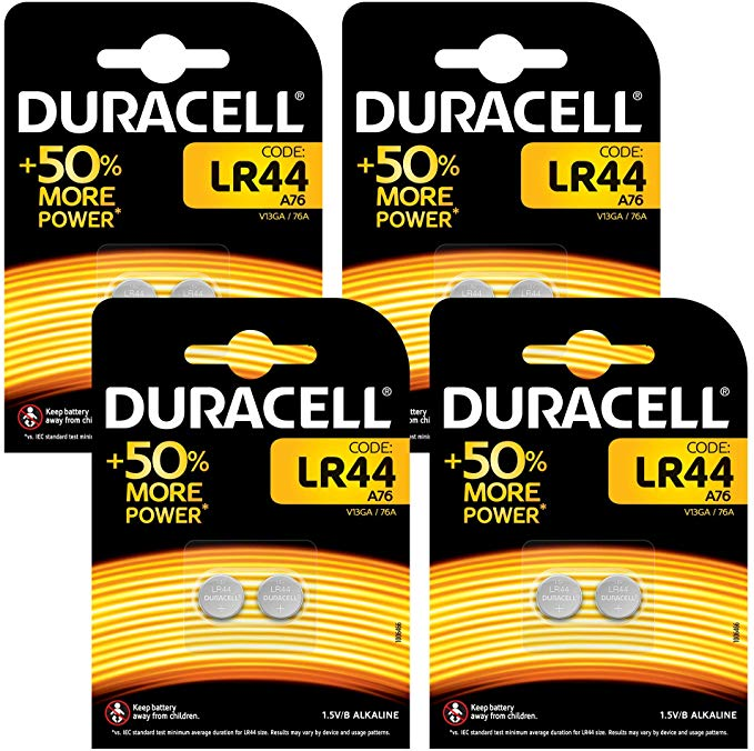 Duracell Specialty LR44 Alkali-Knopfzelle