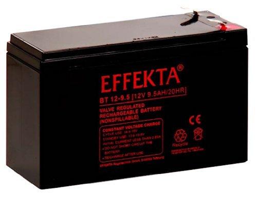 Effekta AGM Akku Batterie Typ BT12-9,5 12V 9,5Ah