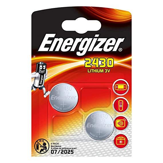 Energizer 2430 Lithium Knopfzelle