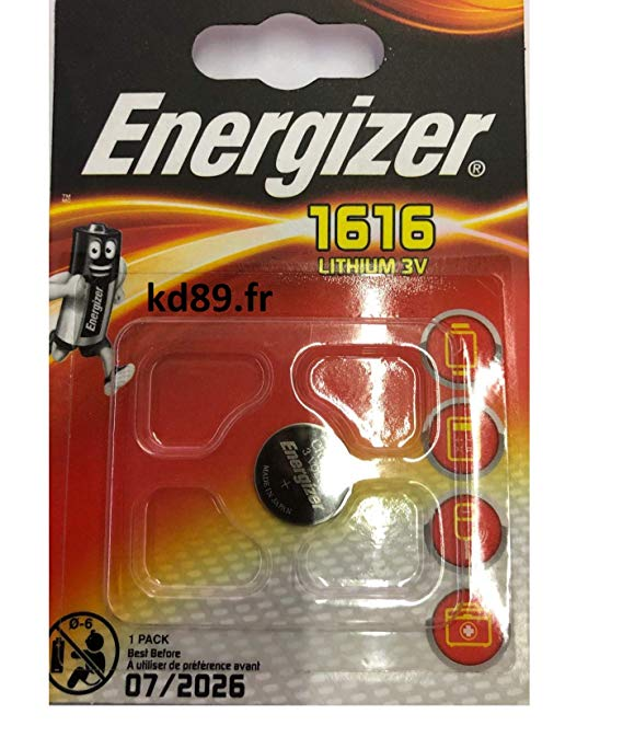 Energizer CR1616 Lithium Knopfzelle 3 V Blisterverpackung
