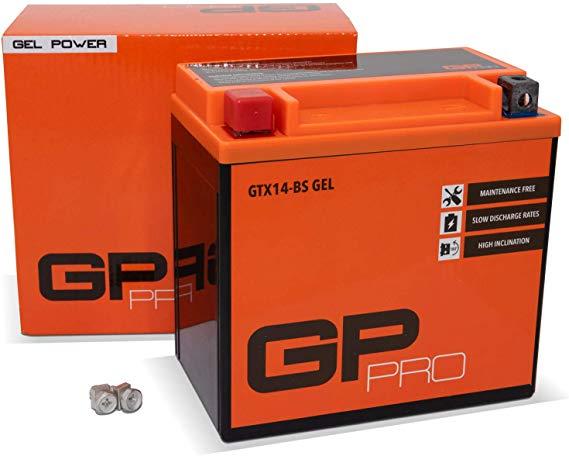 GP GTX14-BS 12V 14Ah GEL-Batterie