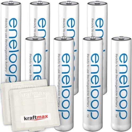 Kraftmax 8er-Pack Panasonic Eneloop AAA