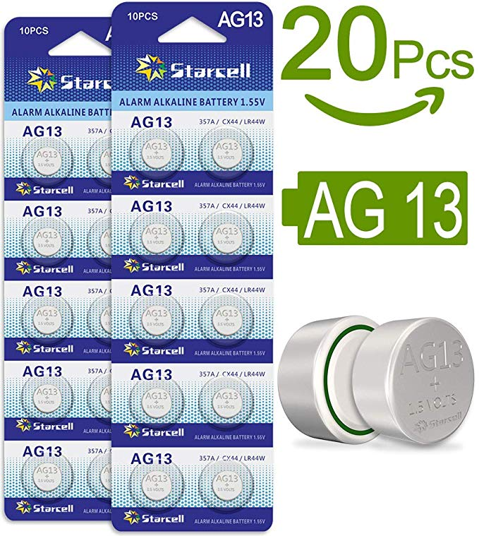 No Name Act AG13 LR44 Button Cells Batteries