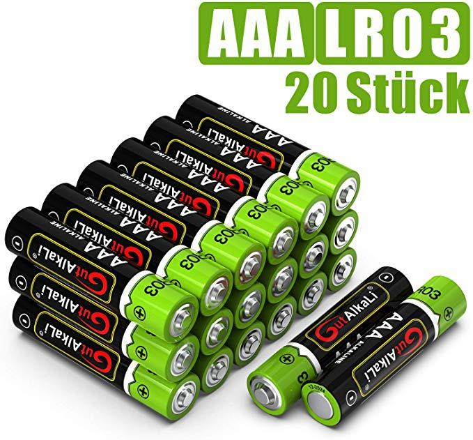 No Name GutAlkaLi Batterien Mignon Alkali, AAA