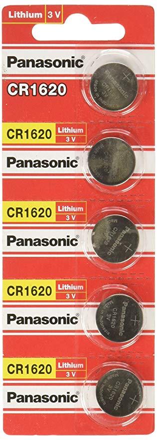Panasonic CR1620 Lithium-Knopfzelle