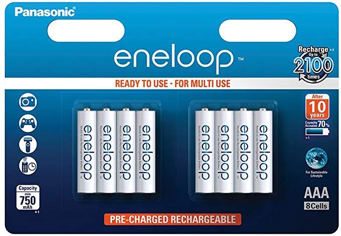 Panasonic eneloop Ni-MH Akku AAA Micro 8er Pack
