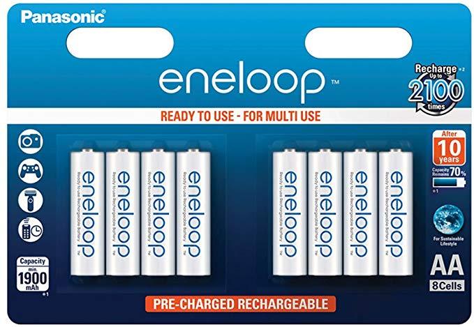 Panasonic eneloop Ready-to-Use Ni-MH Akku AA Mignon