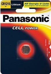 Panasonic Lithiumbatterie Typ CR 1216