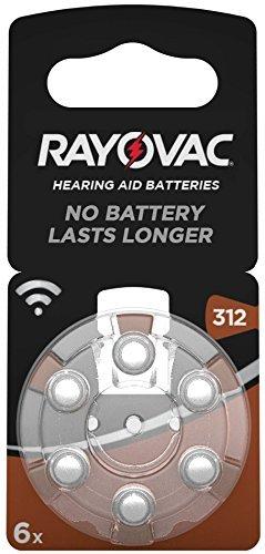 Rayovac Acoustic Special Batterien 312 Hörgerätebatterien