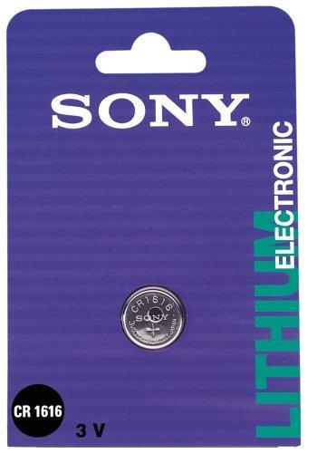 Sony CR-1616 3,0V Lithium Knopfzelle