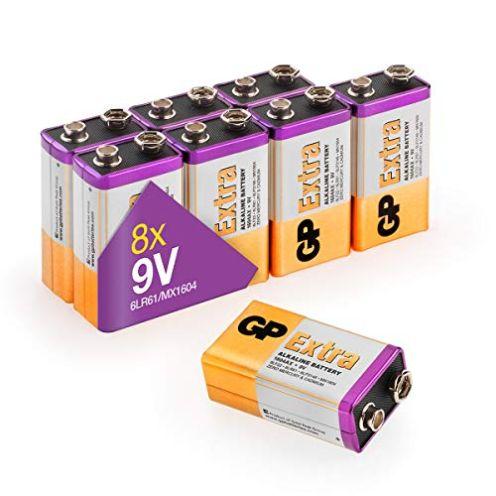 GP Extra Alkaline 9V Block Batterien