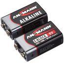 Ansmann Red Alkaline 9V Block