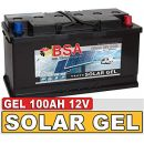 BSA Solarbatterie Gel Batterie