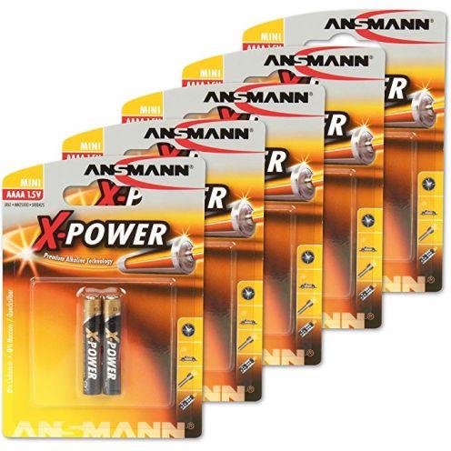 Ansmann (10er-Pack) 1,5V Alkaline AAAA Batterie