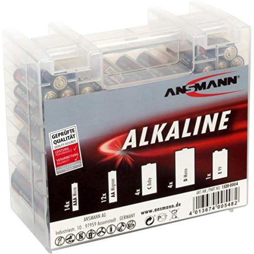Ansmann Alkaline Batterie Box
