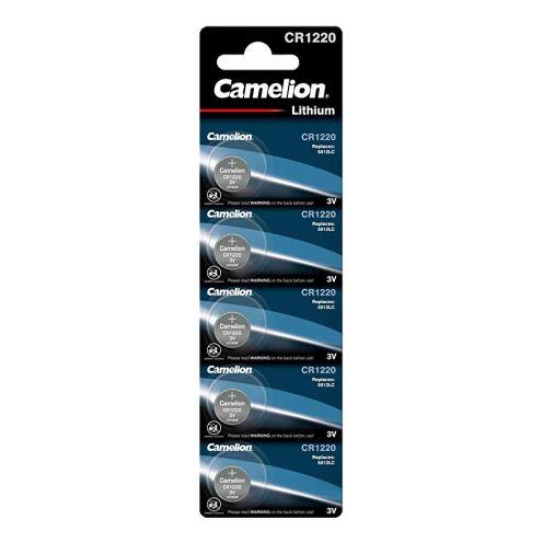 Camelion CR1220 Lithium Knopfzelle 5er Blister
