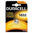 Duracell 5000394007420 Lithium 1632 Knopfzellenbatterie