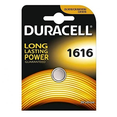 Duracell 5000394030336 DL1616 3V Lithium Knopfzellenbatterie