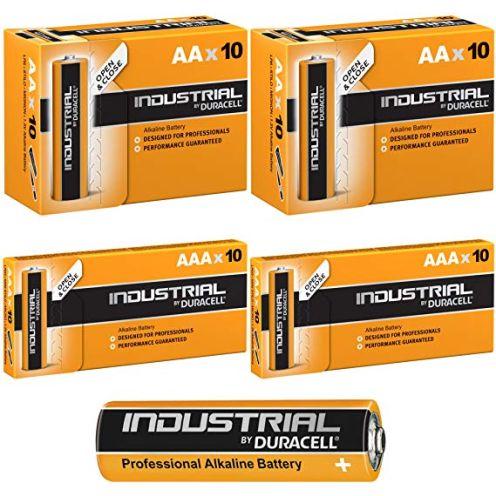 Duracell AAA und AA Industrie Batterie