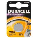 Duracell CR1616 Knopfzelle 3Volt