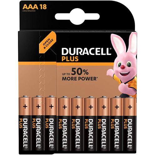 Duracell Plus AAA Micro Alkaline Batterien LR03