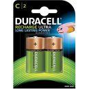 Duracell Recharge Ultra C Baby Akku Batterien LR14