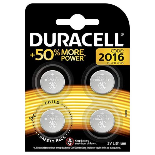 Duracell Specialty 2016 Lithium-Knopfzelle