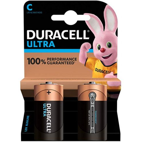 Duracell Ultra C Baby Alkaline Batterien LR14