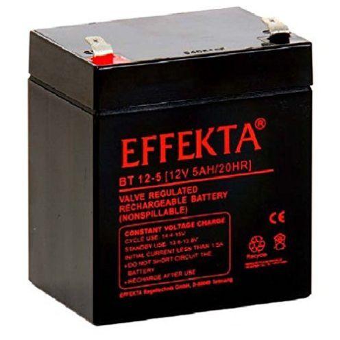 Effekta AGM Akku Batterie Typ BT 12-5 12V 5Ah