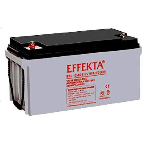 Effekta BTL 12-80 / 12V 80Ah AGM Blei Akku Batterie