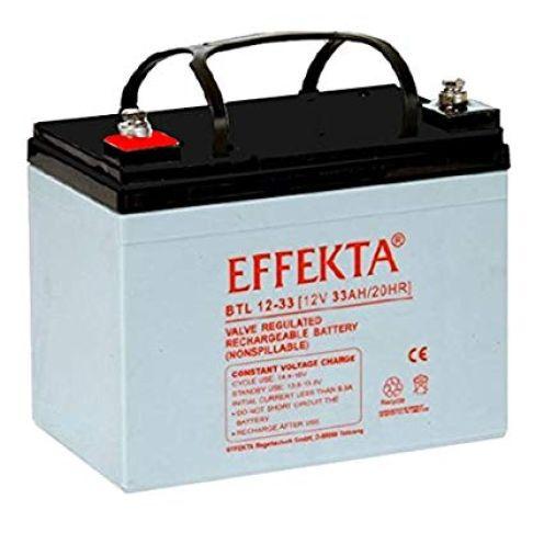 Effekta BTL12-33 / 12V 33Ah AGM Blei Akku Batterie