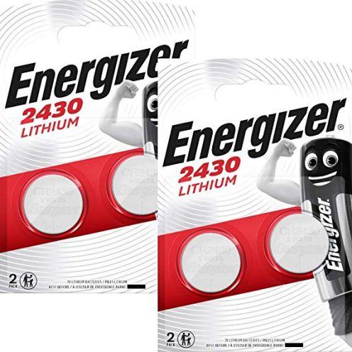 Energizer CR2430 3V Lithium Knopfzelle