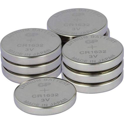 GP Batterien CR1632 3V Lithium Knopfzellen