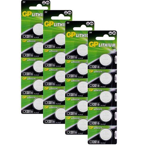 GP Batterien CR2016 3v Lithium Knopfzellen