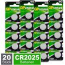 GP CR2025 Lithium Knopfzellen 3V