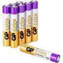 GP Extra Alkaline Batterien Typ AAAA (Mini / LR61)