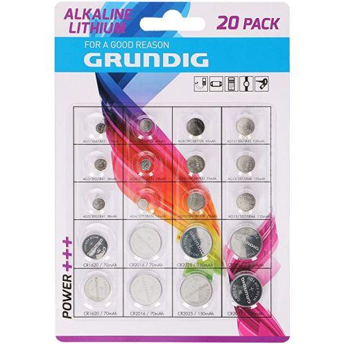 Grundig 85572 Knopfzellen-Batterien
