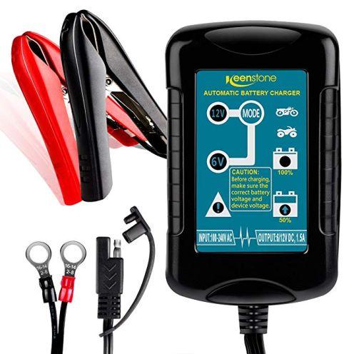 Keenstone Batterie Ladegerät 6/12V 1.5A