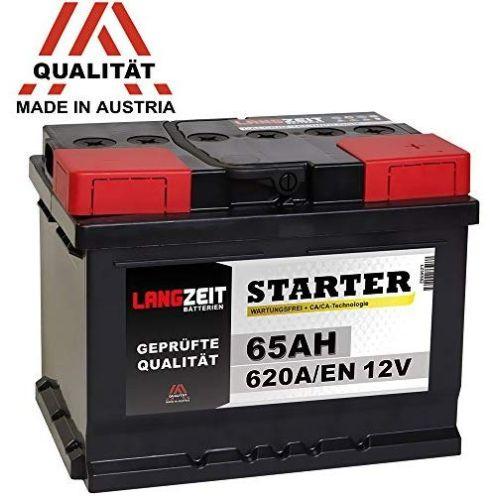 Langzeit Batterien Autobatterie 12V 65Ah