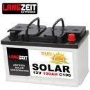 Langzeit Batterien Solarbatterie 100Ah C100 12V