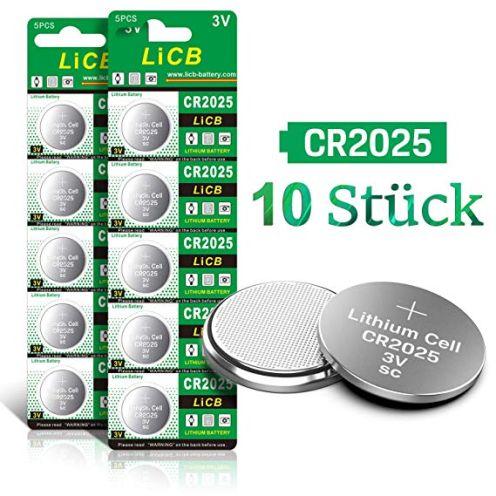 LiCB CR2025 3V Lithium Knopfzelle
