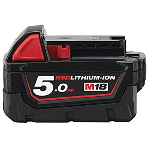 Milwaukee M18 B5, 18 V/5.0 Ah Red Li-Ion