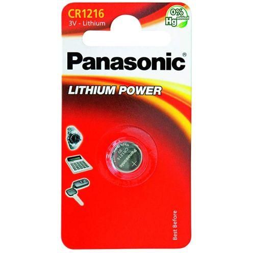 Panasonic 1851 Lithium Knopfzellen Batterie CR 1216