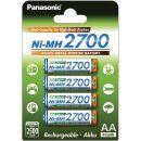 Panasonic High Capacity Akku Ni-MH 2700 AA Mignon