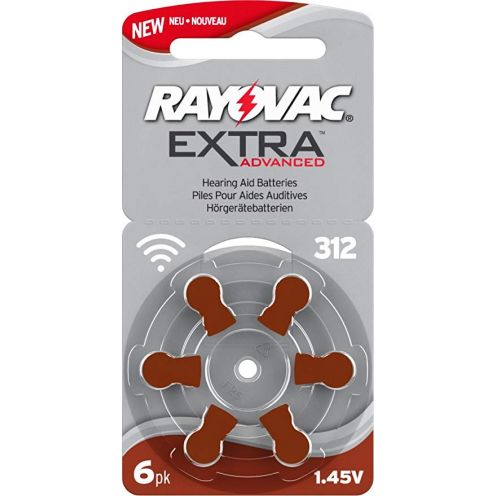 Rayovac Extra Advanced Zink Luft Hörgerätebatterie
