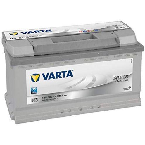 Varta 6004020833162 Autobatterie Silver Dynamic H3