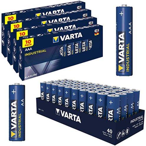 Varta Batterie Set 40 Stk AA Mignon + 40 x AAA Micro