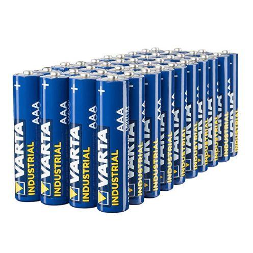 Varta Industrial Batterie AAA Micro Alkaline Batterien LR03