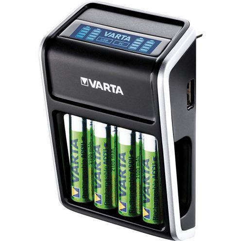 Varta LCD Plug Ladegerät für AA/AAA/9V
